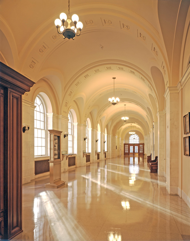 Byron W interior hall 2
