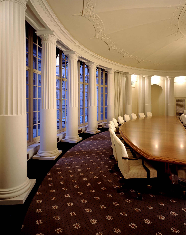 Byron W interior Jury room