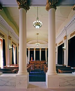 Byron W interior courtroom b