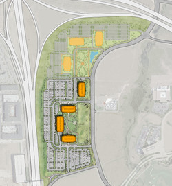 CH2M HILL SITE PLAN Model 1to200