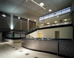 TCI interior lobby