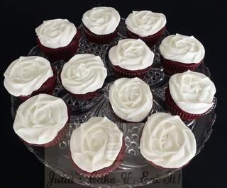 Red velvet cupcakes.  3 syns each.