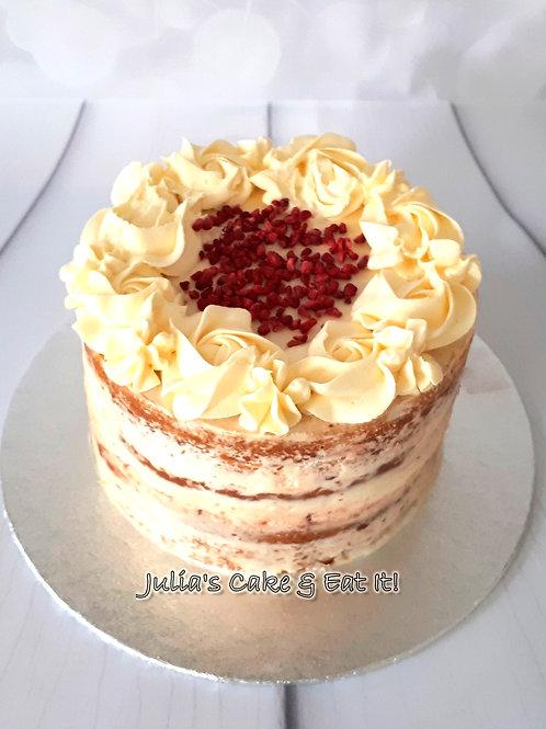 Eggless Vanilla Sponge