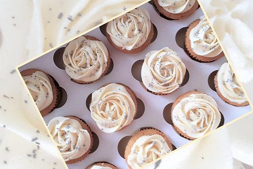 Vanilla Cupcakes - Box of 12