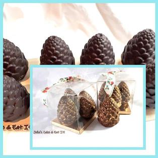 Pine Cone Hot Chocolate Bombs