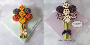 cupcake bouquet on iced board.jpg