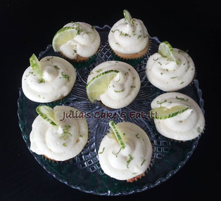 Gin & Lime cupcakes