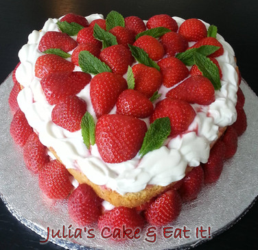 Slimmers' Love Cake - 6 BIG portions.  5 syns per portion.