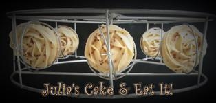 Vanilla & salted caramel cupcakes with salted caramel buttercream