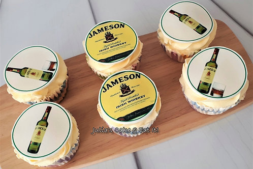 Cupcakes with Edible Image Toppers