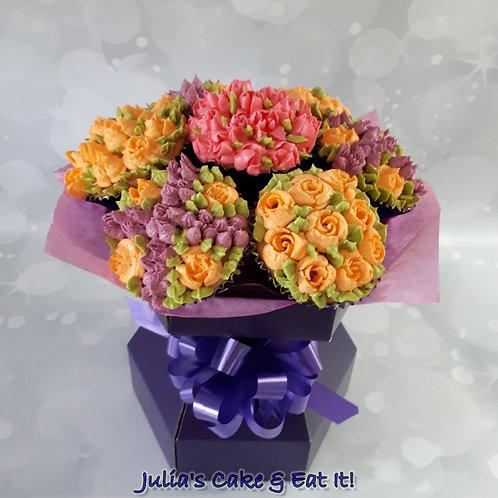 Cupcake Bouquet in Presentation Box