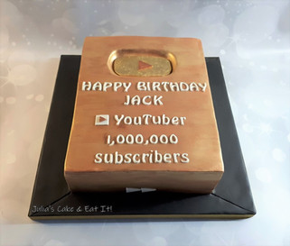 YouTube Cake