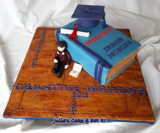 Joint graduation & 21st birthday cake