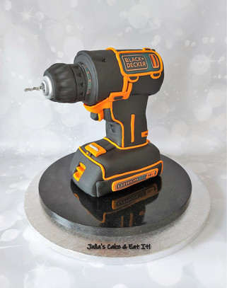 Cordless Drill Cake