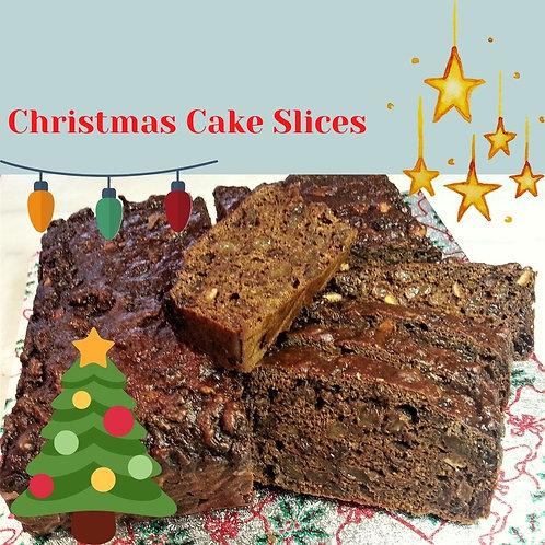 Skinny Bakes Christmas Cake Slices - Pack of 7