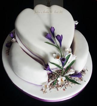 Crocus Birthday Cake