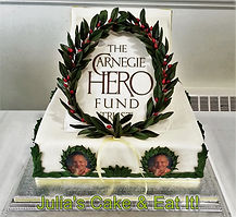 Cake for a hero