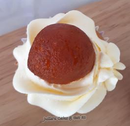 Gulab Jamun Cupcake