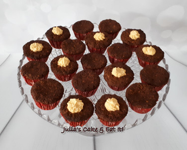Mini Sticky Toffee muffins - 1.5 syns each