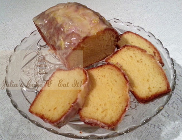Greek Lemon-Yogurt Loaf Cake