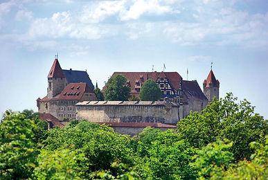 Die Burgenstrasse, Kastelen en Burchten in Duitsland