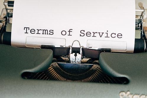 Verkoopsvoorwaarden & clausules