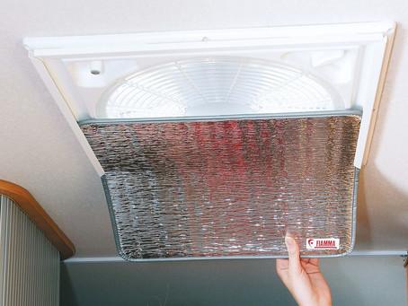 Ventilator insulator - Ventilator isolatie