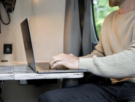 How to Work Remotely from your RV - Hoe u op afstand kunt werken vanuit uw camper