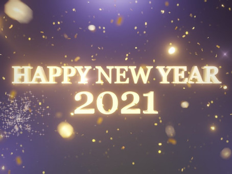 Happy New Year 2021 !!