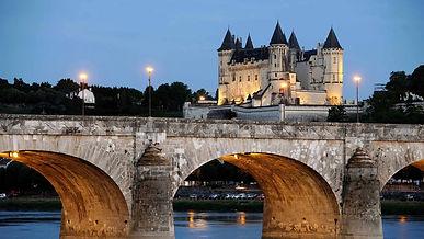 De mooie franse kastelen van de Loire