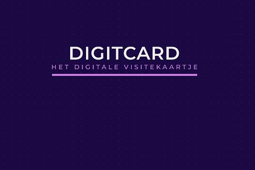 DIGITCARD 1-page website