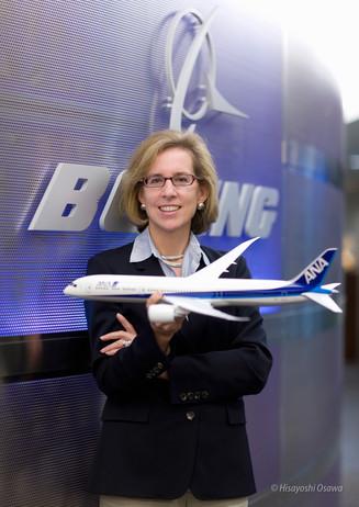 ニコール パイアセキ Nicole Piasecki ボーイング・ジャパン 社長President of Boeing  Japan 2008