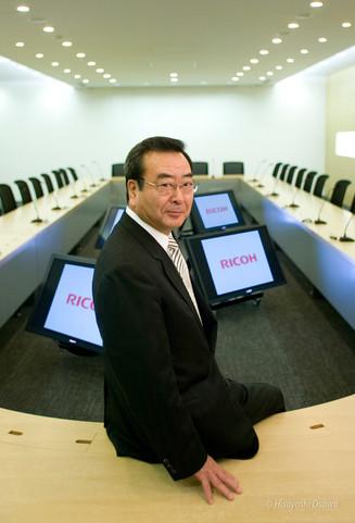 桜井 正光 リコー代表取締役社長 2006