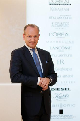 Klaus Fassbender クラウス ファスベンダー 日本ロレアル 代表取締役社長  2012