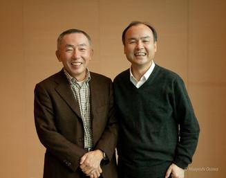 □柳井 正 ファーストリテイリング CEO  □孫 正義 ソフトバンクモバイル CEO  2007