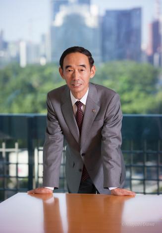 有馬 彰 NTTコミュニケーションズ 代表取締役社長 2012
