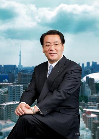 金子 眞吾 凸版印刷 代表取締役社長  2012