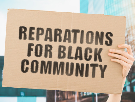 Did Someone Say Reparations?