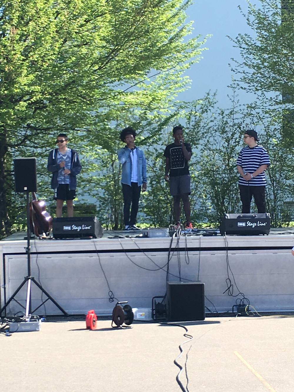 Spring Concert vom Do, 19.4.2018