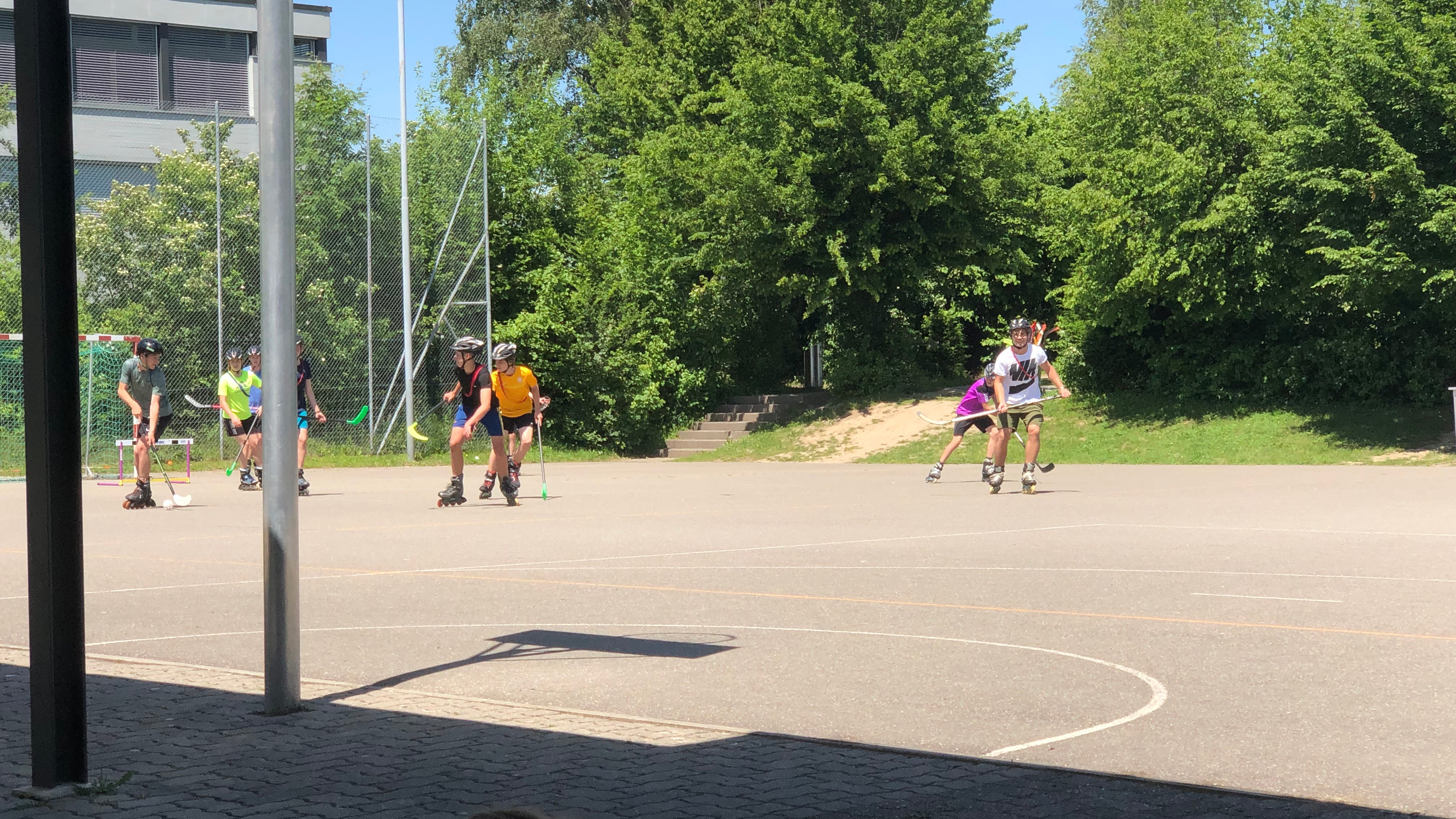 Rollhockey im Wüeri