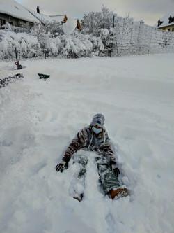 Ich bin kein Schneemann!