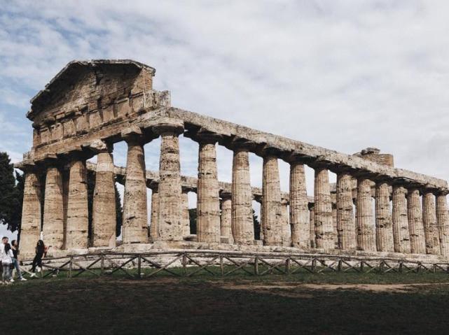 Paestum: il Tempio di Atena