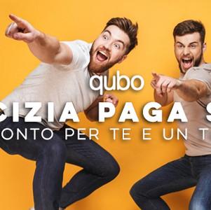 Cover Facebook Campagna L'Amicizia Paga Sempre 2019