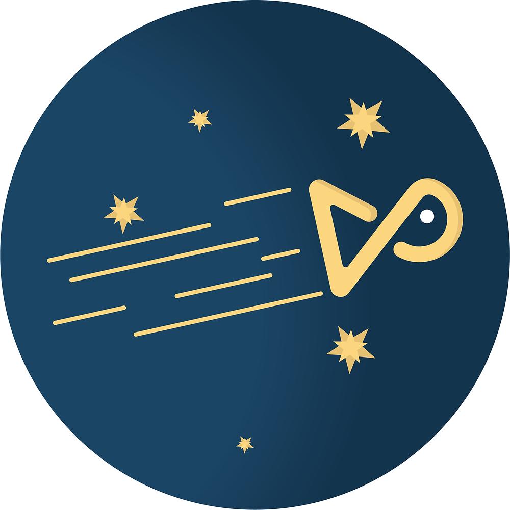 Il logo della Pesce Comunica per Natale