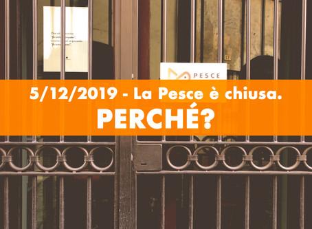 Domani la Pesce è chiusa: perché?