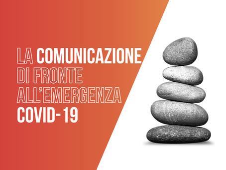 La comunicazione di fronte all'emergenza Covid-19