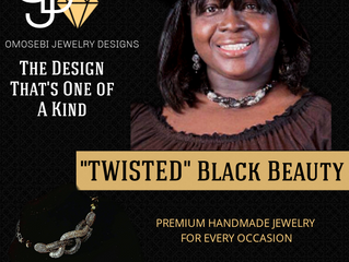 "EVEN COWGIRLS GET ""TWISTED"" WHILE RIDING OMOSEBI JEWELRY DESIGNS"