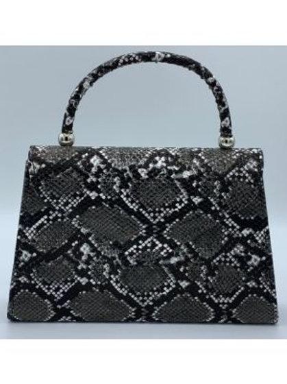 Vegan Replica Snake Skin Handbag