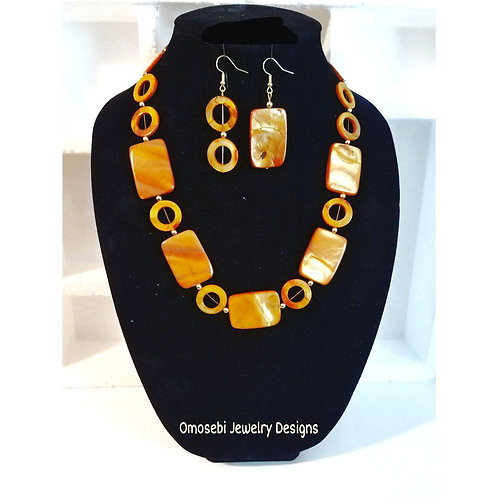 """""""Sahrai"""" Necklace & Earring Set (Clutch Sold Separately)"""