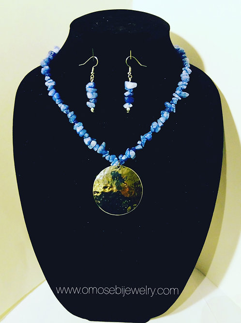 """""""Gracious"""" Necklace and Earring Set"""